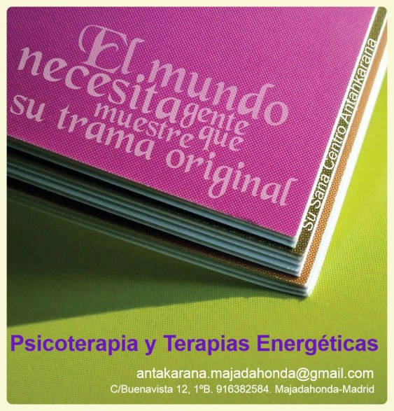 ANTAHKARANA MAJADAHONDA PSICOTERAPIA Y TERAPIAS ENERGÉTICAS